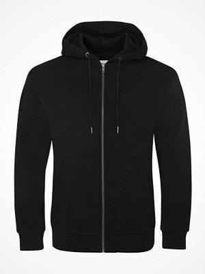 Pyjamas & myskläder - Resteröds Orginal Zip Hoodie Black