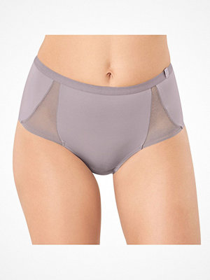 Trosor - S by sloggi S by Sloggi Symmetry High Waist Panty Warmgrey