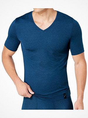 Pyjamas & myskläder - S by sloggi S by Sloggi Sophistication V-Neck Shirt Darkblue