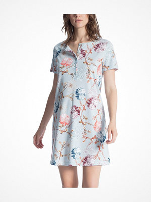 Calida Cosy Flowers Sleepshirt Blue Pattern