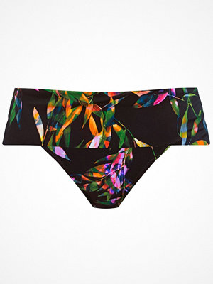 Fantasie Palawan Classic Fold Brief Black pattern-2