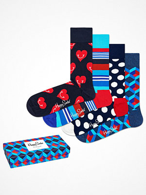 Happy Socks 4-pack Happy Socks Nautical Gift Box 630 Multi-colour