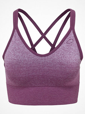 Pierre Robert Sports Light Support Bra Deep purple