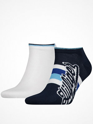 Tommy Hilfiger 2-pack Men Hilfiger Sneaker Sock White/Navy