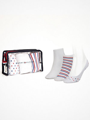 Tommy Hilfiger 3-pack Women Giftbox Sock White Pattern-2