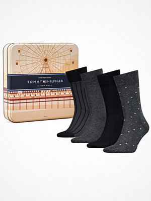 Tommy Hilfiger 4-pack Men Sock Giftbox Black