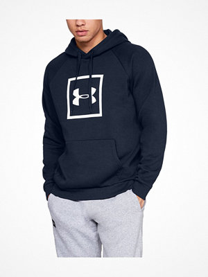 Under Armour Rival Fleece Logo Hoodie Navy-2
