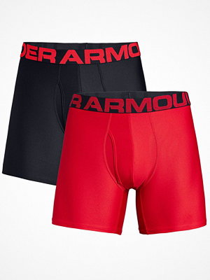 Under Armour 2-pack Tech Boxerjock Black/Red