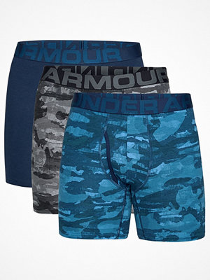 Under Armour 3-pack Charged Cotton Boxerjock Black/Blue