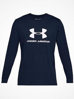 Pyjamas & myskläder - Under Armour Sportstyle Logo Long Sleeve Navy-2