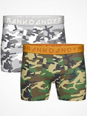 Frank Dandy 2-pack Camo Boxer White/Green