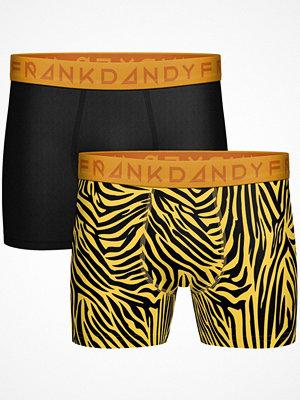 Frank Dandy 2-pack Tiger Boxers Black/Yellow