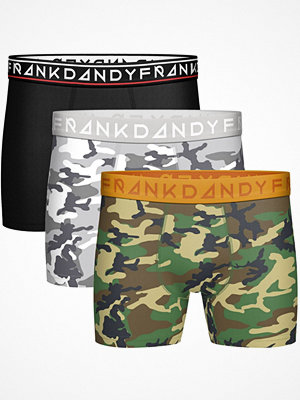Frank Dandy 3-pack Camo Boxers 12878 White/Green