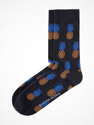 Björn Borg Pineapple Mini Bamboo Socks Blue Pattern