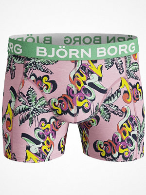 Björn Borg Core Happy Shorts Pink Pattern