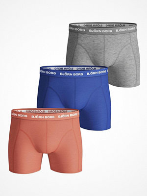 Björn Borg 3-pack Essential Shorts Blue/Grey