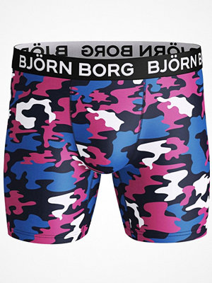 Björn Borg Performance Wild Camo Shorts Pink Pattern