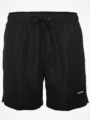 Badkläder - Calvin Klein Core Solids Drawstring Swim Shorts Black