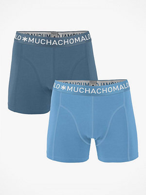 Muchachomalo 2-pack Solid Boxer Blue/Lightblue