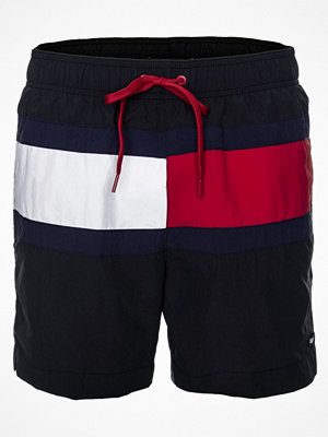 Badkläder - Tommy Hilfiger ColorBlock Medium Swim Shorts Black