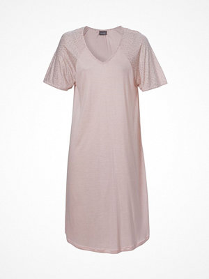 Trofé Trofe Bamboo Nightdress Short Sleeve Pink