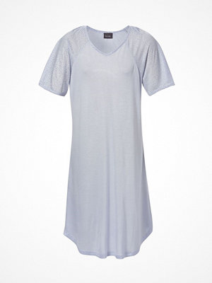 Trofé Trofe Bamboo Nightdress Short Sleeve Blue