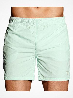 Badkläder - Gant Basic Swim Shorts Classic Fit Turquoise