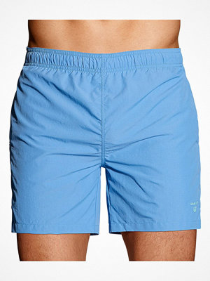 Badkläder - Gant Basic Swim Shorts Classic Fit Blue