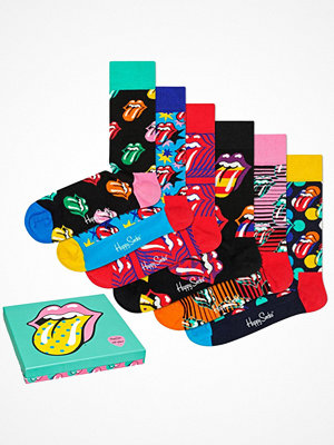 Happy Socks 6-pack Happy Socks Rolling Stones Sock Box Set S10 Multi-colour