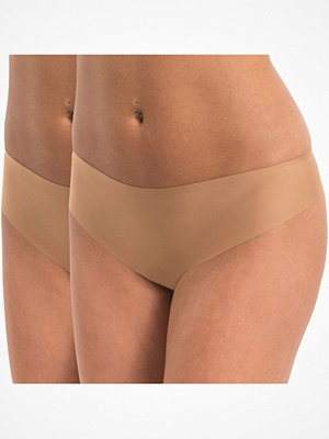 Magic 2-pack MAGIC Dream Invisibles Thong Mocca