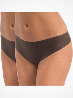 Magic 2-pack MAGIC Dream Invisibles Thong Chocolate