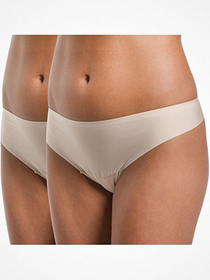 Magic 2-pack MAGIC Dream Invisibles Thong Beige