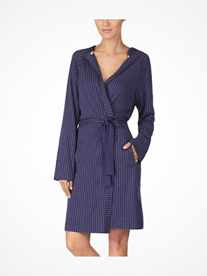Morgonrockar - DKNY New Signature Robe 2119 Navy-2