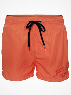 Badkläder - Gant Lightweight Short Cut Swim Shorts Orange