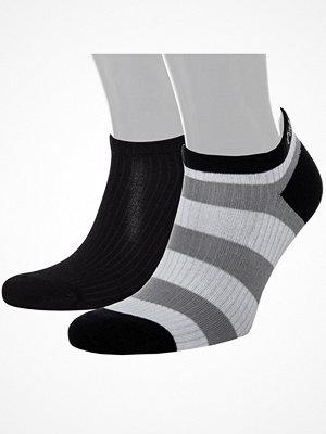 Calvin Klein 2-pack Olivia Bold Stripe Liner Socs Grey