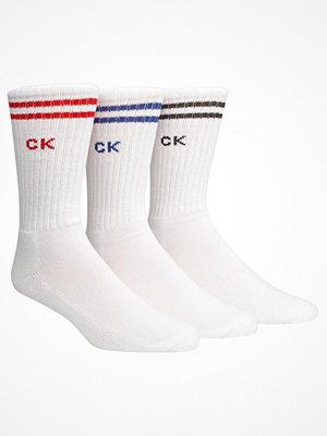 Calvin Klein 3-pack Bradford Sport Socks White