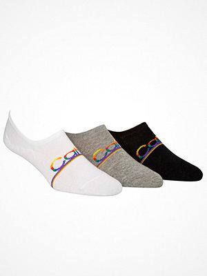 Calvin Klein 3-pack Toby Pride Sneaker Liner Socks Multi-colour