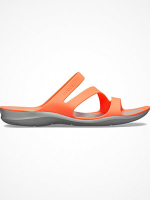 Tofflor - Crocs Swiftwater Sandal W Coral