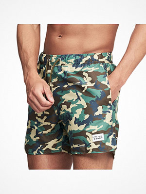 Badkläder - Frank Dandy Breeze Camo Swim Shorts Camouflage-2