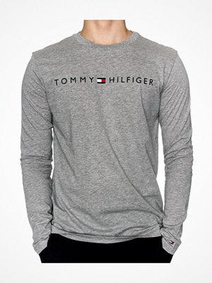 Pyjamas & myskläder - Tommy Hilfiger Original LS Crew Tee Long Sleeve Grey