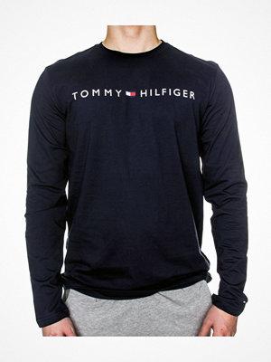 Pyjamas & myskläder - Tommy Hilfiger Original LS Crew Tee Long Sleeve Navy-2