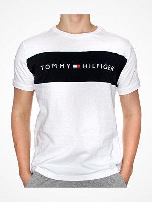 Tommy Hilfiger Original SS Crew Tee Logo Flag White