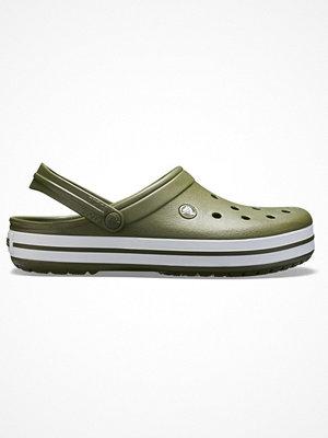Tofflor - Crocs Crocband Unisex Militarygreen