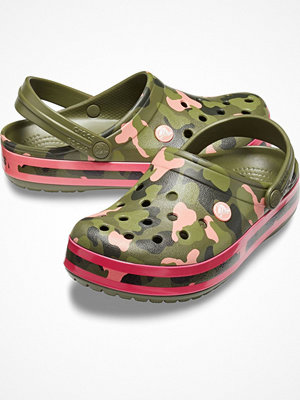 Tofflor - Crocs Crocband Graphic Clog Militarygreen