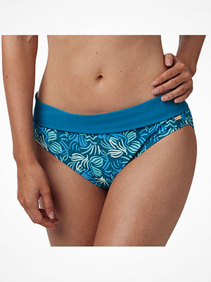 Abecita Miami Twisted Folded Brief Blue Pattern