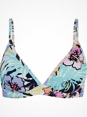 Abecita Sicilia Wire Bikini Bra White Pattern-2