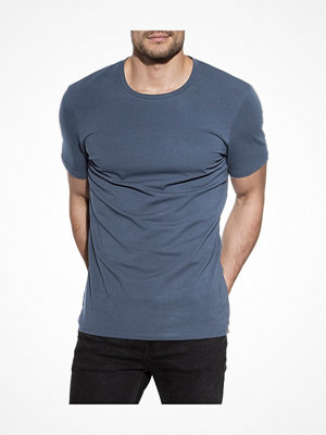 Bread and Boxers Crew Neck  Blue