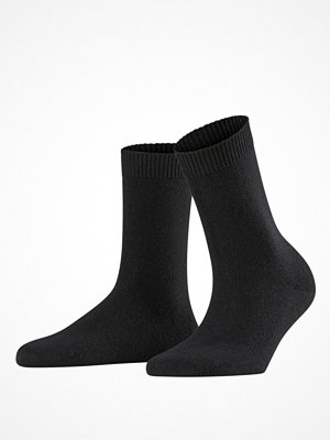 Strumpor - Falke Women Cosy Wool Socks Black