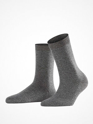 Strumpor - Falke Women Cosy Wool Socks Grey