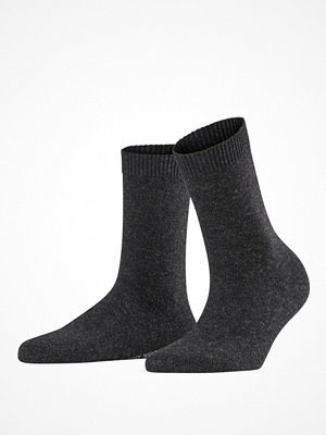 Strumpor - Falke Women Cosy Wool Socks Anthracite